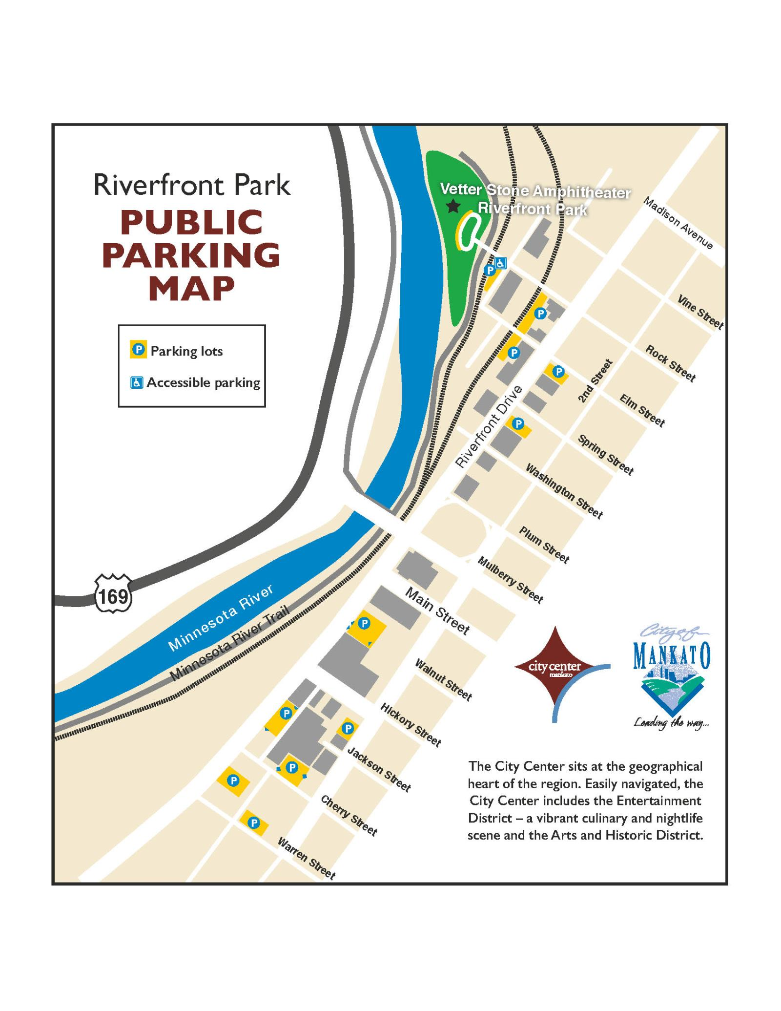 Parking and Directions | Mankato Civic Center